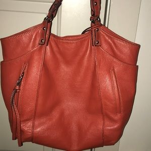 Kooba leather bag in burnt orange